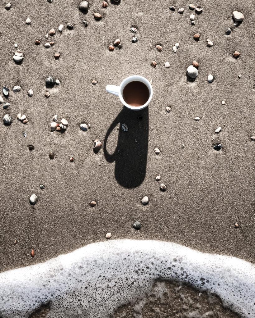 Strandhaus Julianadorp Lai Chun Syringalotus Niederlande Nordsee Holland Urlaub Travel Meer Coffee Shell
